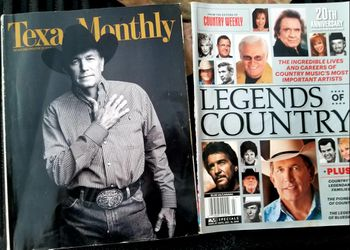 2 Magazine lot George Strait Country music for Sale in Waco,  TX
