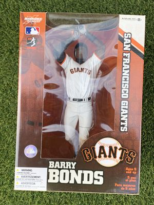 McFarlane Sports 12 Inch MLB SF Giants Barry Bonds Action Figure New from 2005 for Sale in Phoenix, AZ