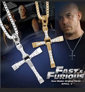 Fast and Furious cross necklace for Sale in Los Angeles, CA