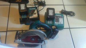 Makita 18v cordless circular saw for Sale in Stockton, CA