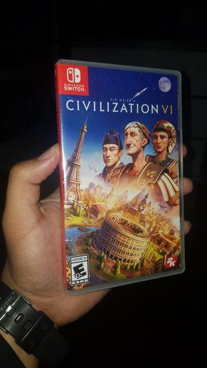 Nintendo Switch Civilization 6 Game for Sale in Providence, RI