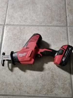 Milwaukee M18 Hackzall for Sale in Federal Way, WA