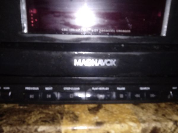 Magnavox cd five changer
