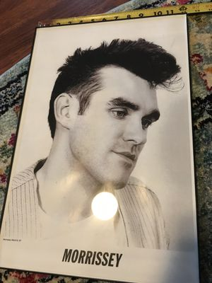 Morrissey poster 12X18 for Sale in Ontario, CA
