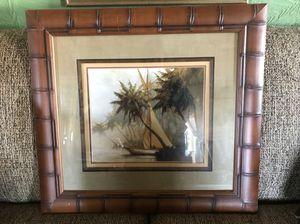 Sailboat picture excellent condition $35 for Sale in Aurora, IL