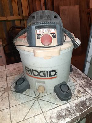 👉 RIDGID SHOP- VAC for Sale in Portsmouth, VA