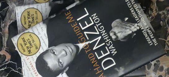 DENZEL WASHINGTON BOOK for Sale in Atlanta,  GA
