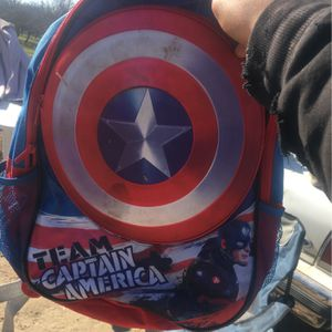 Captain America Backpack for Sale in Turlock, CA