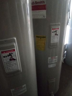 used 40 and 50 galons a.o smith water heater for sale for Sale in Lutz, FL