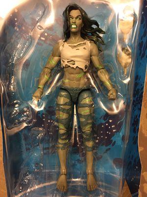 Marvel Legends super skrull fantastic 4 wave HULK she only for Sale in Wichita, KS