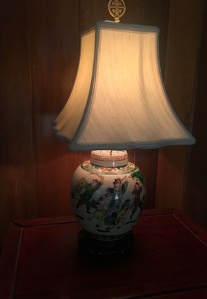 Antique Chinese Ginger Jar Lamp for Sale in Portsmouth, VA