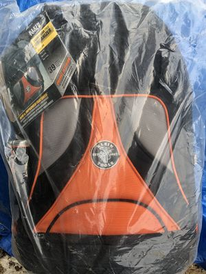 Klein tool backpack Brand New perfect to carry to work so no hauling bucket for Sale in Glendale Heights, IL