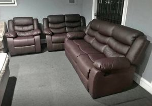 New 3pc. Recliner Set for Sale in Austin, TX