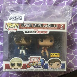 Funko Pop Captain Marvel vs Chun-Li for Sale in San Diego, CA