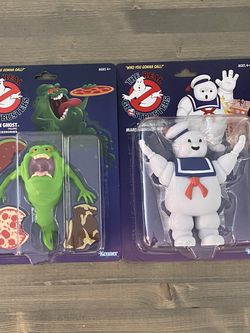 The Real Ghost Busters - The Green Ghost & The Stay - Puft Marshmallow Man for Sale in Fontana,  CA