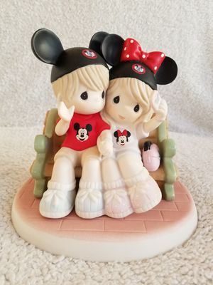 Disney World Autographed Precious Moments Porcelain Bisque Figurine for Sale in Kissimmee, FL
