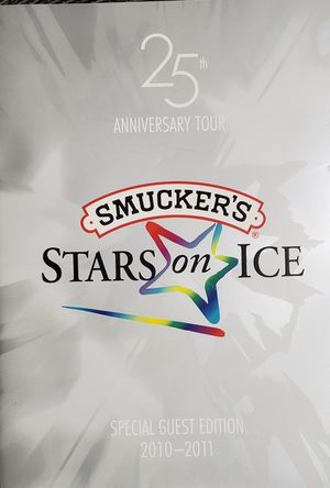 25th Anniversary Program Stars On Ice for Sale in East Haven, CT