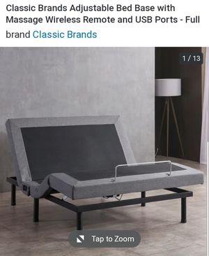 Bed Frame Adjustable w/ Massage & USB Ports for Sale in West Orange, NJ