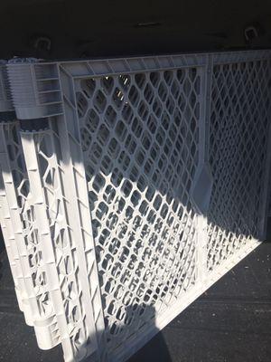 VERY BIG 8 PANEL SUPERGATE PLAYPEN SUPERYARD HUGE GATE PET GATE BABY SAFETY GATE for Sale in San Antonio, TX
