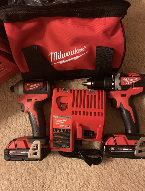 Milwaukee Brushless Drills