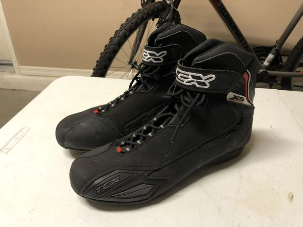 Tex steel toe Motorcycle Shoes - size: 11