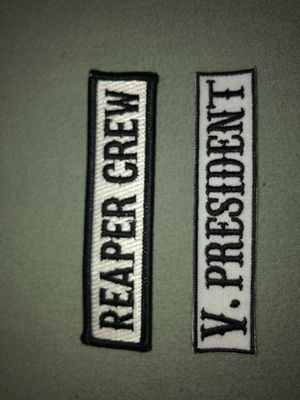Sons Of Anarchy Cut Patches for Sale in Fresno, CA