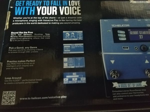 TC Helicon VoiceLive Play Vocal Effects