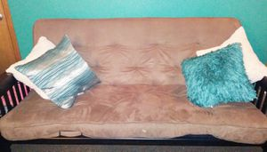 FUTON W/ WOOD FRAME!! **LIKE NEW** for Sale in Portland, OR