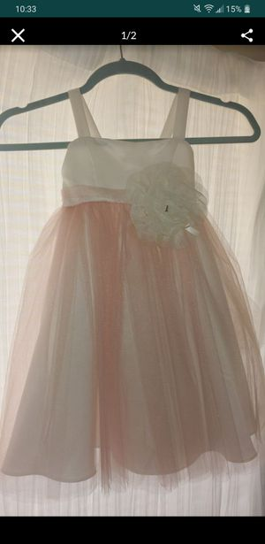 Flower girl dress. Blush pink for Sale in Happy Valley, OR