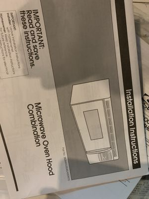 Over-the-Range Microwave Oven Hood Combination for Sale in Willow Grove, PA