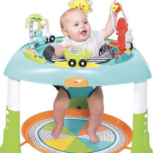 Infantino 2-in-1 Sit, Spin & Stand Entertainer 360 Seat & Baby Activity Table for Sale in Las Vegas, NV