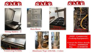 Restaurant Equipments for Sale in Plano, TX