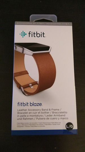 Fitbit Blaze Brown band (band only) for Sale in Annandale, VA