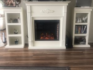 Fireplace with bookshelves for Sale in Alexandria, VA