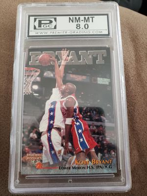 kobe Bryant rookie card 1996 for Sale in Averill Park, NY