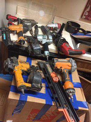 Air tools and a hammer drill . for Sale in Fort Walton Beach, FL