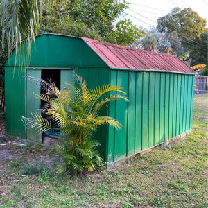 Free metal shed Or Metal Scrub FREE for Sale in Sarasota, FL