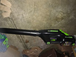Greenworks 80Volt Leaf Blower. Need a battery. Retail $200 for Sale in Columbus, OH