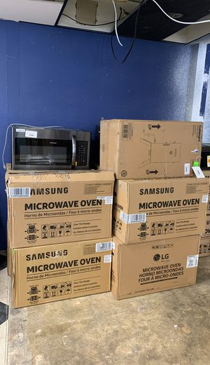 Microwave sale!! Appliance liquidation event! All new with Warranty! Samsung Whirlpool GE and more!! for Sale in Redondo Beach, CA