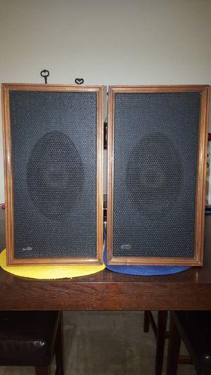 Vintage E.M.I-62 Benjamin Miracord Speakers for Sale in Alpharetta, GA