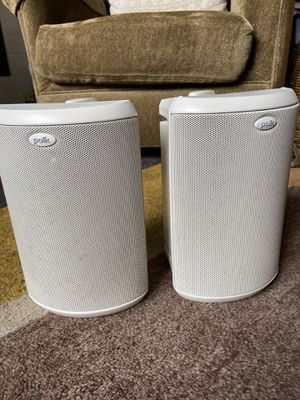 Polk Atrium 45 indoor/outdoor speakers for Sale in Lynnwood, WA