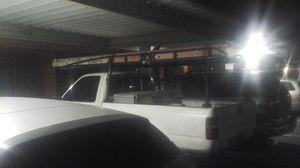 ladder rack fits ford ranger 200 black tool box 100 for Sale in Las Vegas, NV