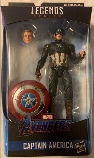 Marvel Legends Worthy Captain America for Sale in Garland, TX