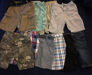 511bba86f18c07 Boys size 5 6 shorts. 10 pairs. Lots of name brands! for