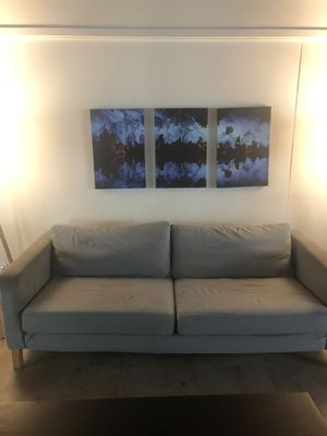 IKEA karlstad couch for Sale in Marina del Rey, CA