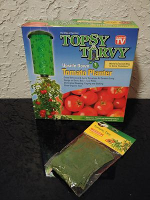 Topsy turvy tomato grower for Sale in Tulsa, OK