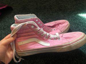 Pink vans size 7 for Sale in Nashville, TN
