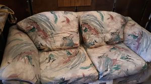 Couch& love seat for Sale in Victorville, CA