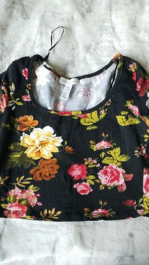 Flower crop top for Sale in Federal Way, WA