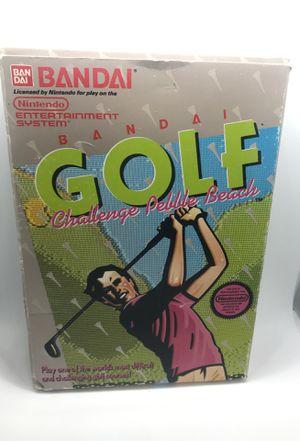 Golf Challenge Pebble Beach Nintendo NES cib for Sale in Corona, CA